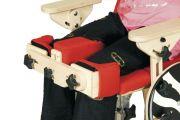 "Knee stabilization for rehabilitation chair ""Zebra"""