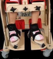 "3D foot adjustment for rehabilitation chair ""Zebra"""