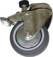 Castors with fixed direction of movement(z)
