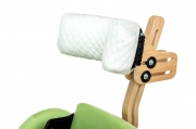 Cotton headrest cover for vertical stander CAT 2