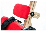 Neck supporting cushion vertical stander and chair DALMATIAN