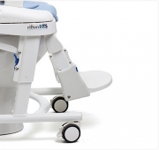Calf guide for universal toileting seat system Rifton HTS