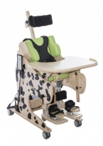 Rehabilitation standing frame with chair function DALMATIAN - Electrical