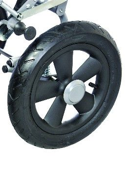 Solid wheels or Pumped wheels for Special Stroller RACER