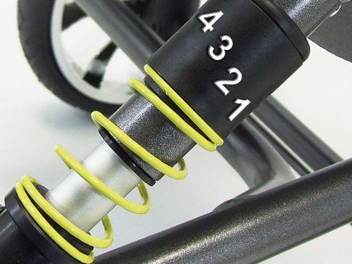Spring system for BINGO wheelchair