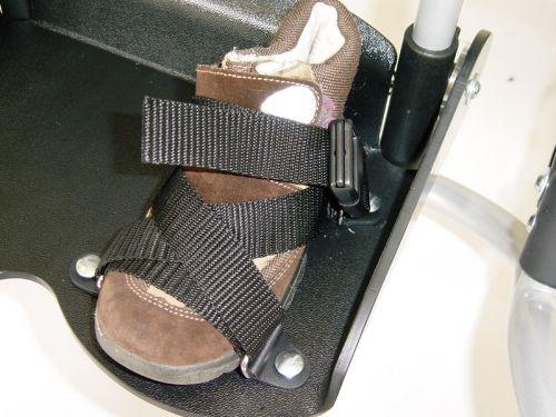 Foot straps for BINGO wheelchair