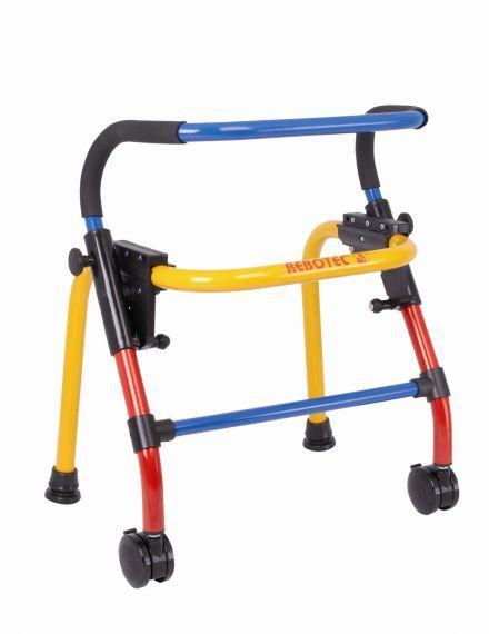 Aluminium walking frame with 2 wheels Rebotec