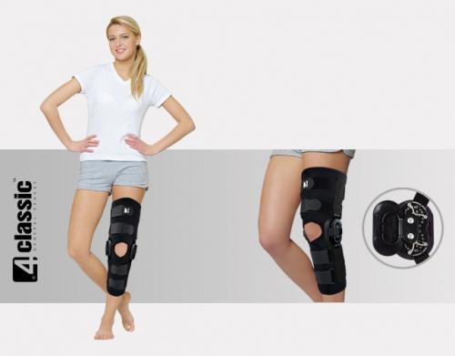 Open brace for lower limb with splints 2R, AM-OSK-OL/2R