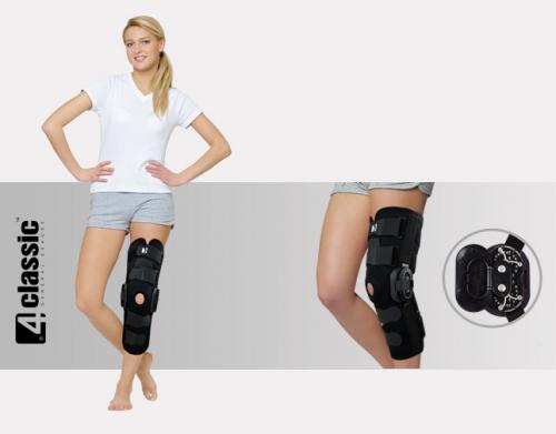 Lower limb brace with splints 2R AM-OSK-ZL/2R