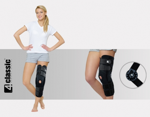 Lower limb brace with splints 1R AM-OSK-ZL/1R