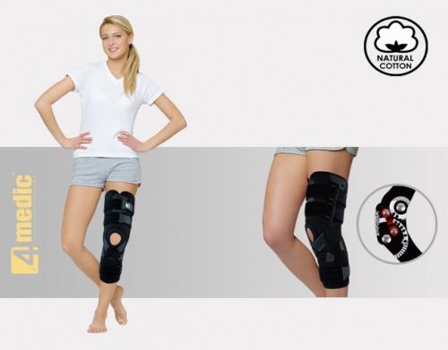 Lower limb brace with splints 2RA AM-OSK-ZL/2RA