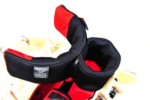Adjustable head rest for rehabilitation chair