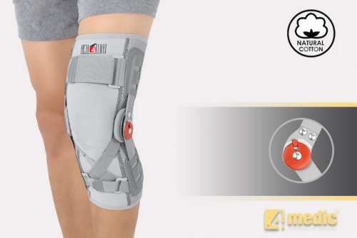 Knee joint brace with splint 1R and support EB-SK/1R