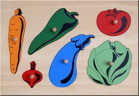 Special need toy VEGETABLES