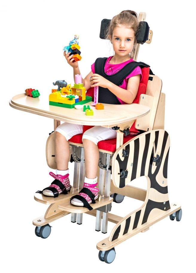 The rehabilitation chair zebra for Special chair design