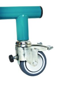 Castors with friction brake (for size PM 1,2,3)