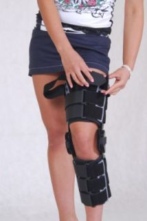 Lower limb brace with splints 2R, AM-KD-AM/2R