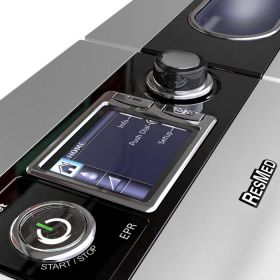 CPAP device ResMed S9 AutoSet with nasal mask Mirage FX