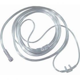 Curved nasal cannula for oxygen concentrator 2 m