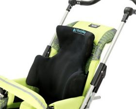 Back cushion with headrest and lateral support BODYMAP C