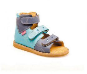 Summer orthopedic shoes for children BLUE