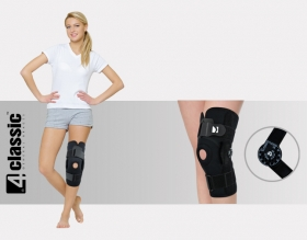 Knee joint brace with splints 1R AM-OSK-Z/1R