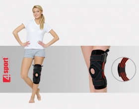 Knee joint brace with splints 2 and cross fastening AM-OSK-Z/S-A