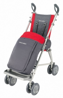 Leg cover for Maclaren stroller
