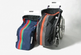 Children thermo bag for wheelchair NICKY/MIKA