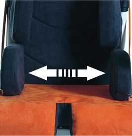 Adjustable thigh support for GEMI new
