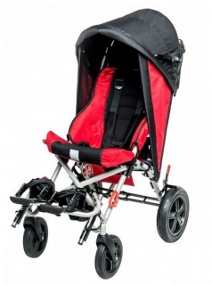 Folding canopy with side covers for buggy OMBRELO