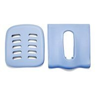 Back and set padding for universal toilet system Rifton HTS