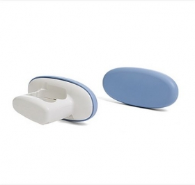 Thigh guides for universal toilet system Rifton HTS