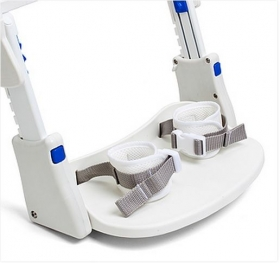 Ankle cuffs for universal toileting seat system Rifton HTS