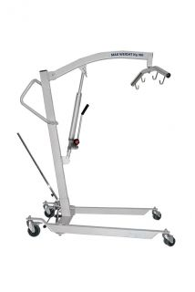 Hydraulic patient lifter