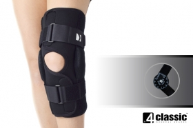 Open knee brace with two splints 1R AM-OSK-O/1R
