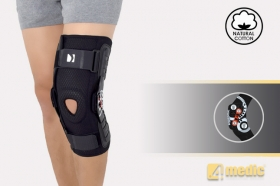 Knee joint brace with splints 2RA AM-OSK-Z/2RA