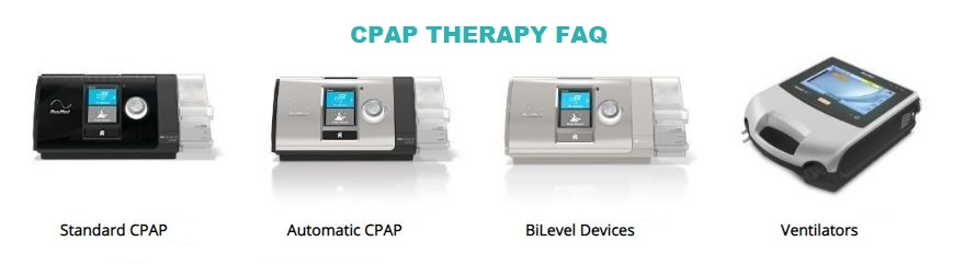 CPAP Therapy Frequently Asked Questions (FAQ)