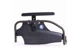 Oblique armrest with adjustable height B05