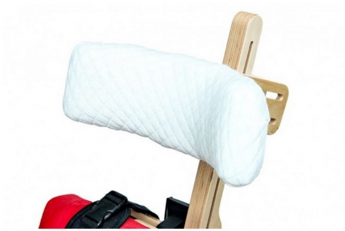 Headrest cotton cover for vertical stander and chair DALMATIAN