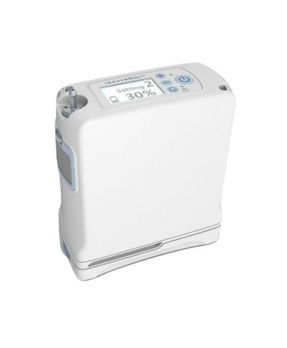 The Inogen G4 portable oxygen concentrator