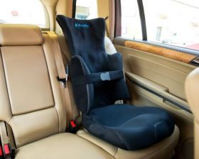 BODYMAP AC Positioning chair with headrest and lateral support