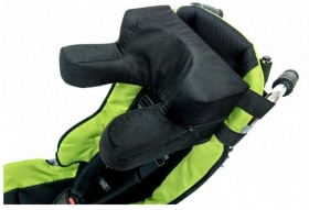 Head and neck support for buggy OMBRELO