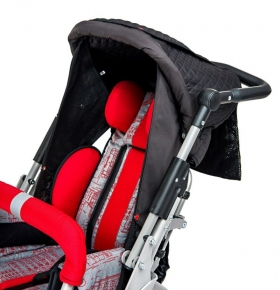 Folding canopy with side covers for buggy URSUS