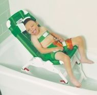 Bathroom chair for children with cerebral palsy and other disabilities OTER
