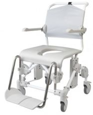 Combined bathroom/toilet chair Etak Swift Mobile