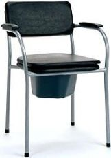 Fixed basic commode chair Vermeiren