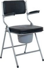Folding combined bathroom/toilet chair Vermeiren 9042