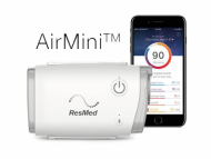 Mobile auto CPAP device ResMed AirMini.